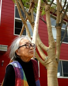 SAORI weaving is based on a philosophy started in Japan by Misao Jo in 1969.