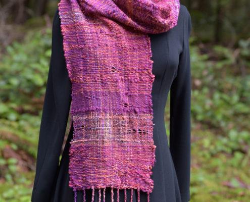 SAORI Weaving - scarf