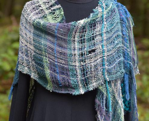 SAORI Weaving - shawl