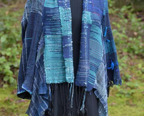 SAORI Weaving - jacket