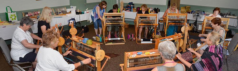 Loom Dancer SAORI Weaving Workshop, Salt Spring Island