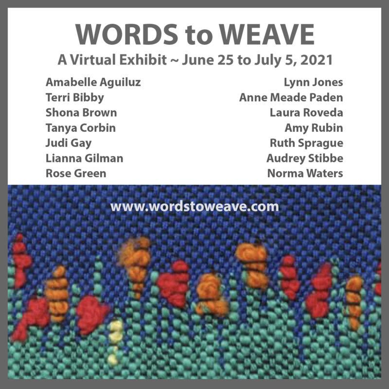 SAORI Weaving Exhibit